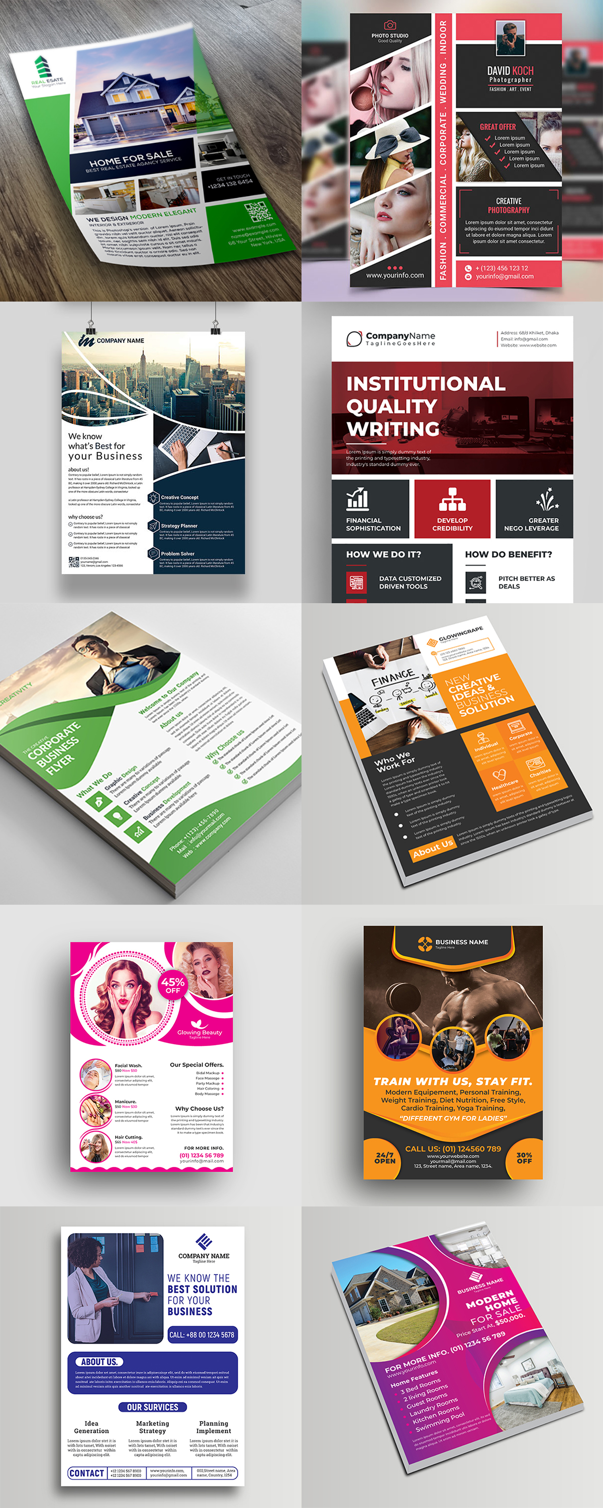 120 Concert Flyer Templates Bundle with Extended License - images 5