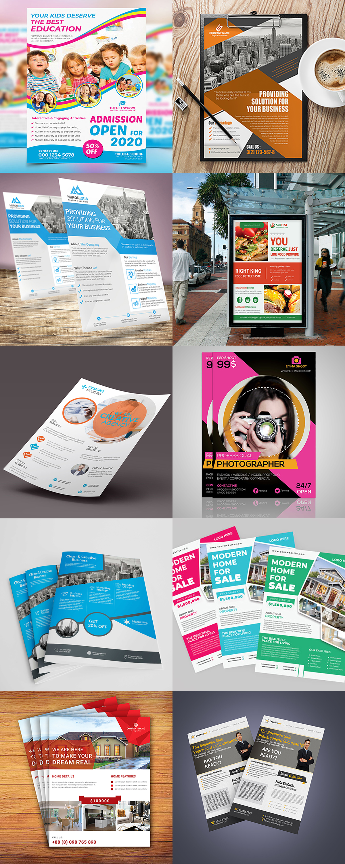 120 Concert Flyer Templates Bundle with Extended License - images 6