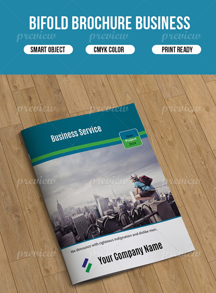 30 Creative Brochures with Extended License - Only $15
