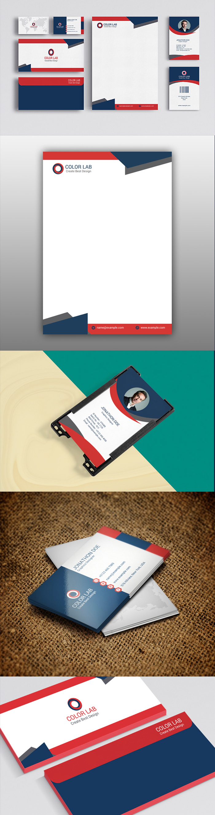 50 Corporate Identities with Extended License - 1