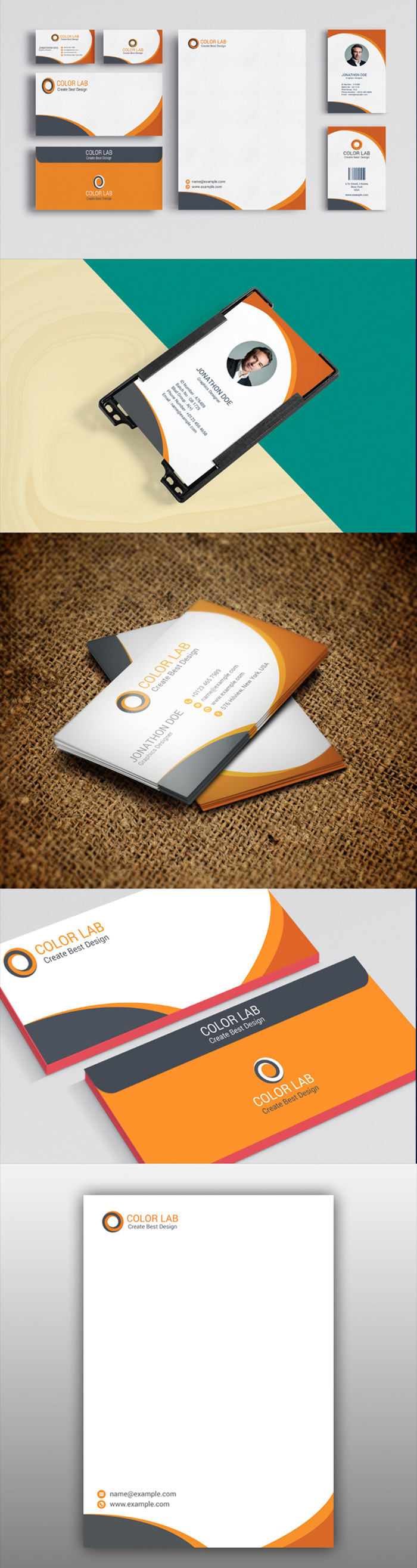 50 Corporate Identities with Extended License - 2