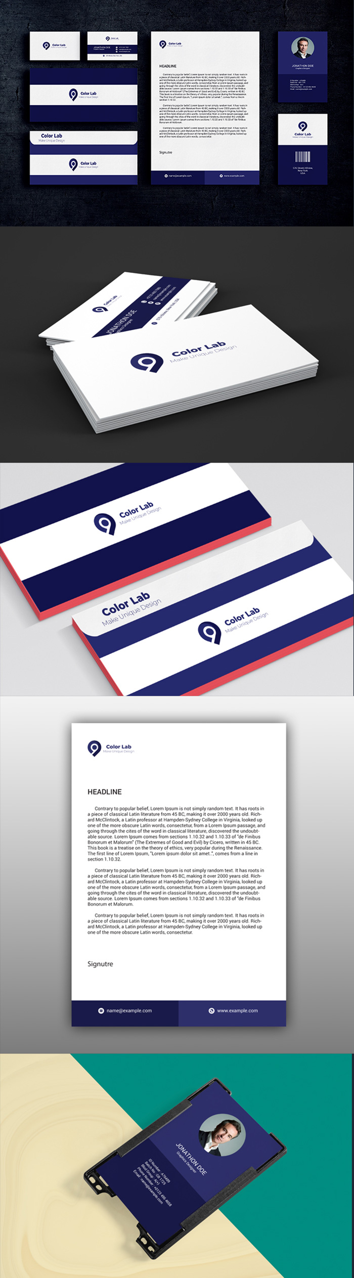 50 Corporate Identities with Extended License - 3