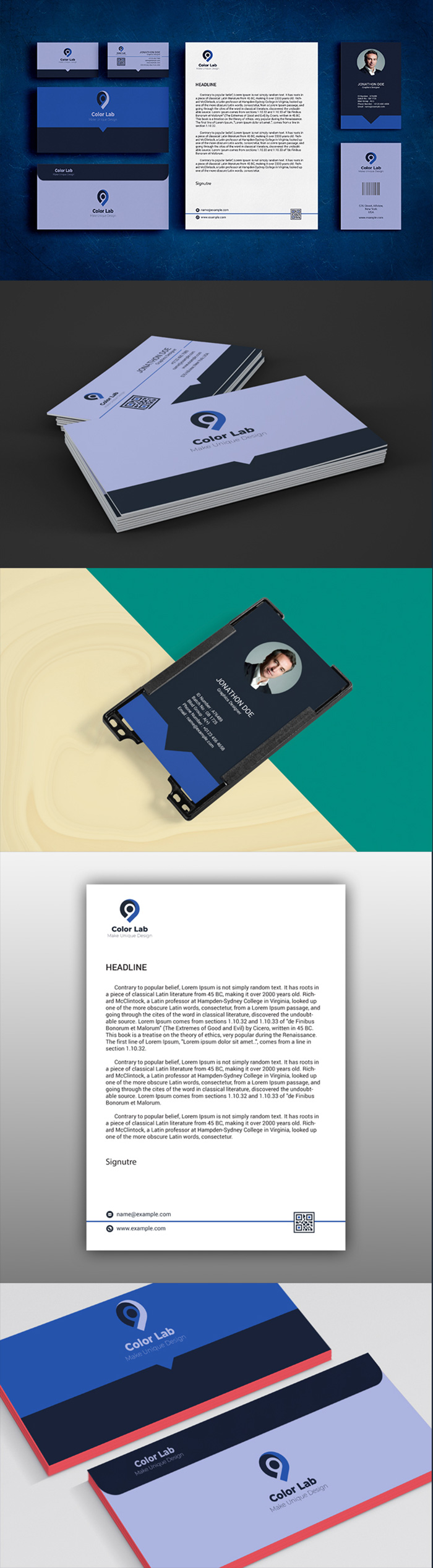 50 Corporate Identities with Extended License - 4