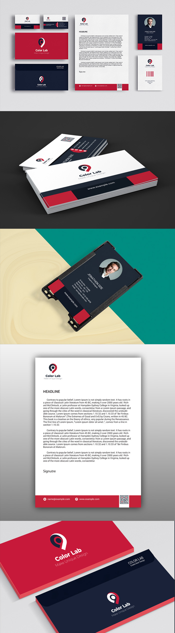 50 Corporate Identities with Extended License - 5