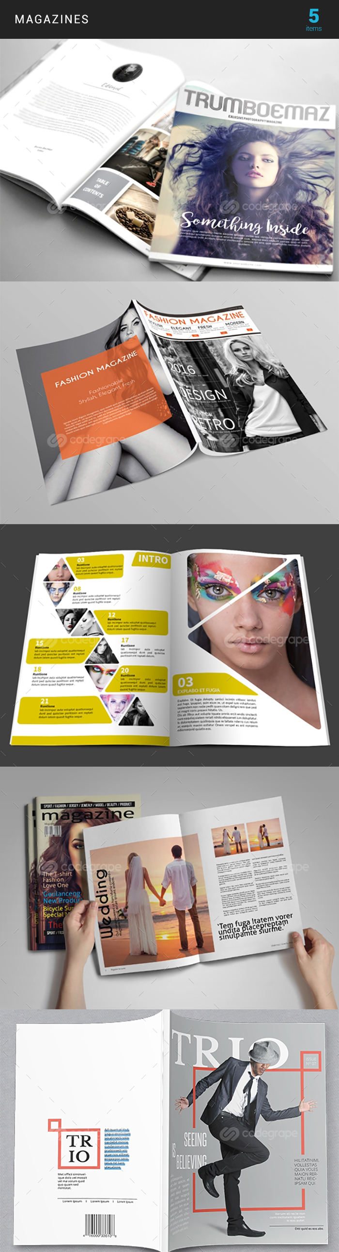 Elegant Print Templates Bundle with 100 Items - Only $19 - magazine