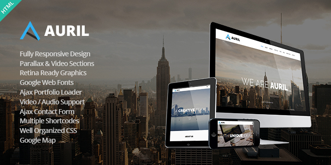 Essential Web Design Bundle with Extended License - Only $29 - codegrape 11230 auril creative one page theme
