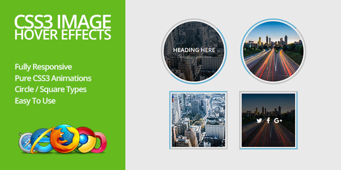 Essential Web Design Bundle with Extended License - Only $29 - codegrape 11370 css3 image hover effects