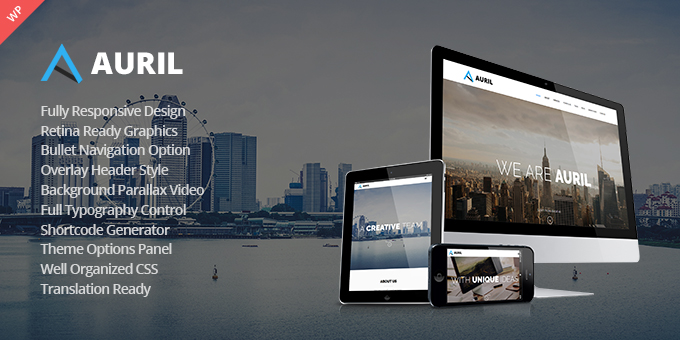 Essential Web Design Bundle with Extended License - Only $29 - codegrape 14136 auril creative one page wordpress theme