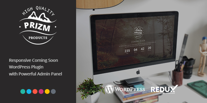 Essential Web Design Bundle with Extended License - Only $29 - codegrape 15125 prizm responsive coming soon wordpress plugin