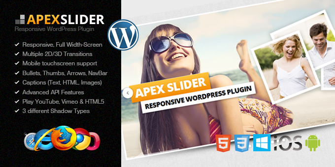 Essential Web Design Bundle with Extended License - Only $29 - codegrape 1614 apex slider responsive wordpress plugin