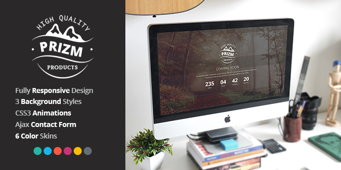 Essential Web Design Bundle with Extended License - Only $29 - codegrape 8550 prizm responsive coming soon theme