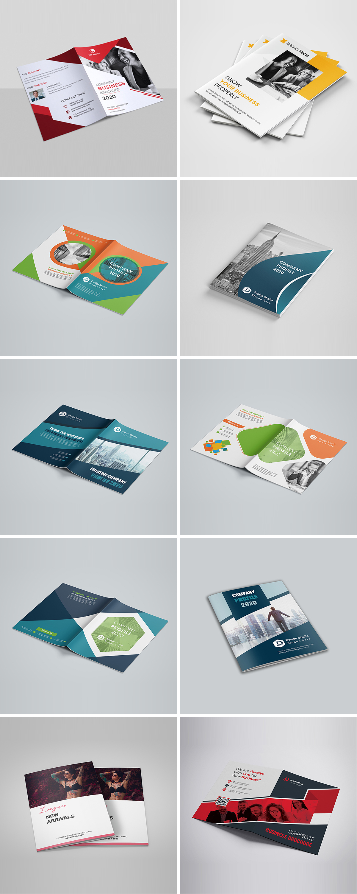Royal Print Templates Bundle with 160 Items - Only $19 - brochures 1