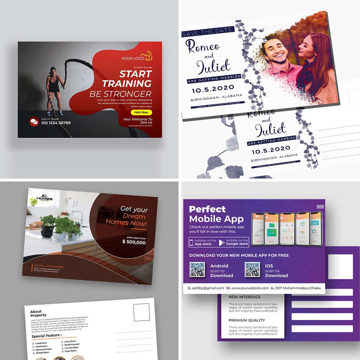 Royal Print Templates Bundle with 160 Items - Only $19 - cards