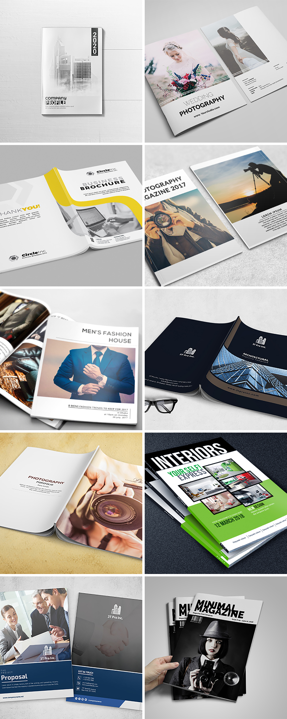 Royal Print Templates Bundle with 160 Items - Only $19 - magazines