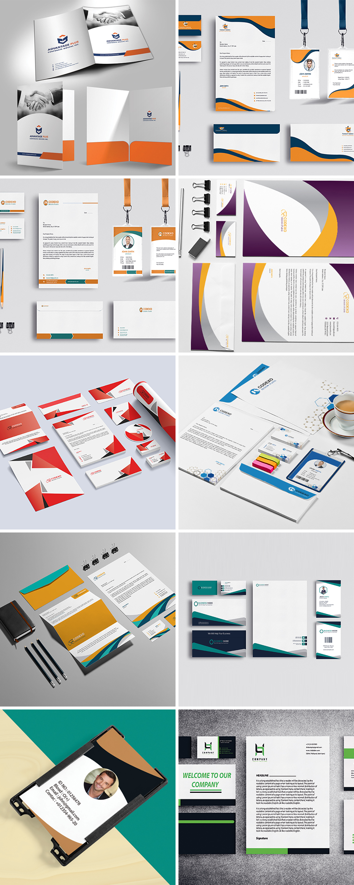 Royal Print Templates Bundle with 160 Items - Only $19 - stationery